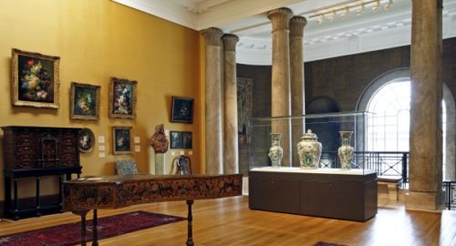 summer school students visit fitzwilliam museum Cambridge