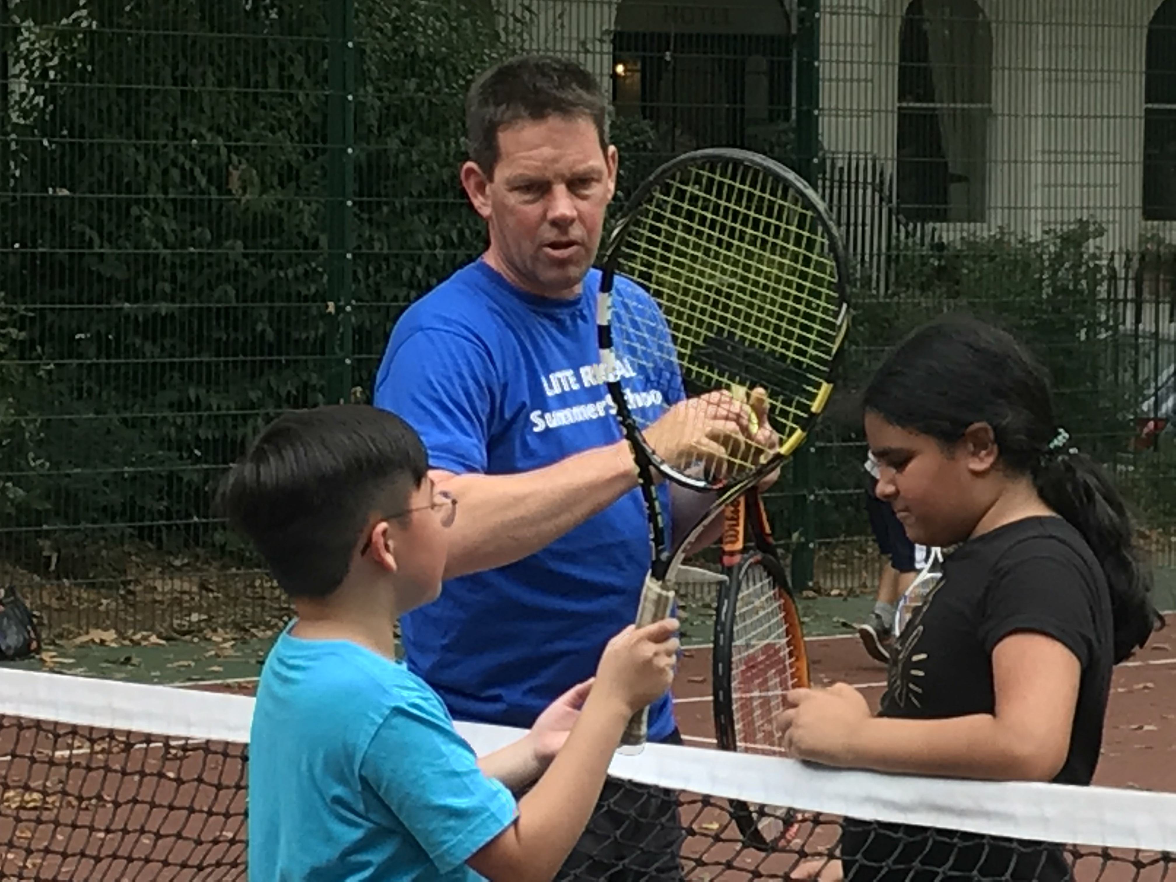 tennis lesson lite regal summer school