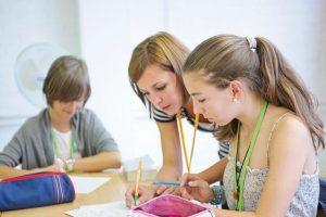 English course in summer school Cambridge
