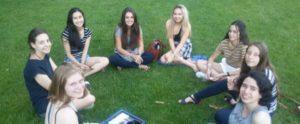 students in summer school social