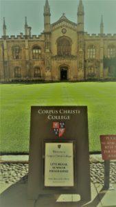 Corpus Christi Summer Cambridge