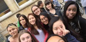 summer school London student group