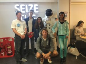 Summer school in London field visit to Google Campus