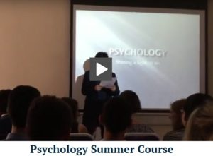 psychology summer course at lite regal