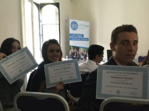Business Students Lite Regal Summer School