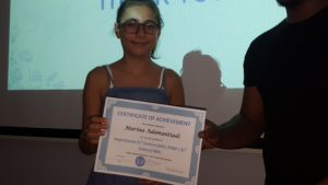 Marina from Spain Inspiratioanal 21st Century Skills