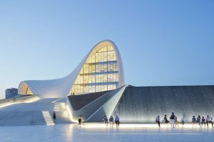 Heydar ALiyev Center Baku Zara Hadid Lite Regal Architecture Course
