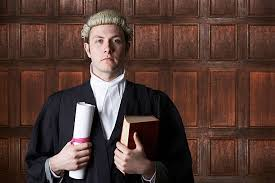 lawyer in wig