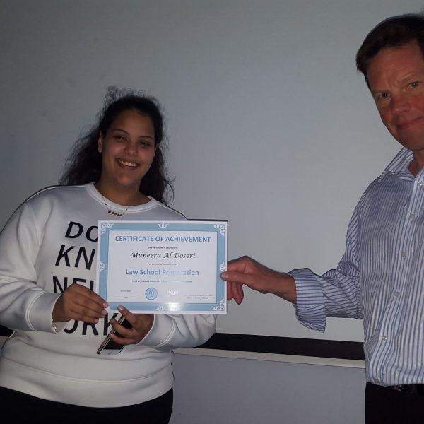 Muneera Al Doseri Law Preparation Summer 15-18 Course in London UCL University