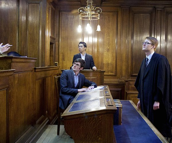 LAW MOOT AT LANCASTER TOWN HALL
